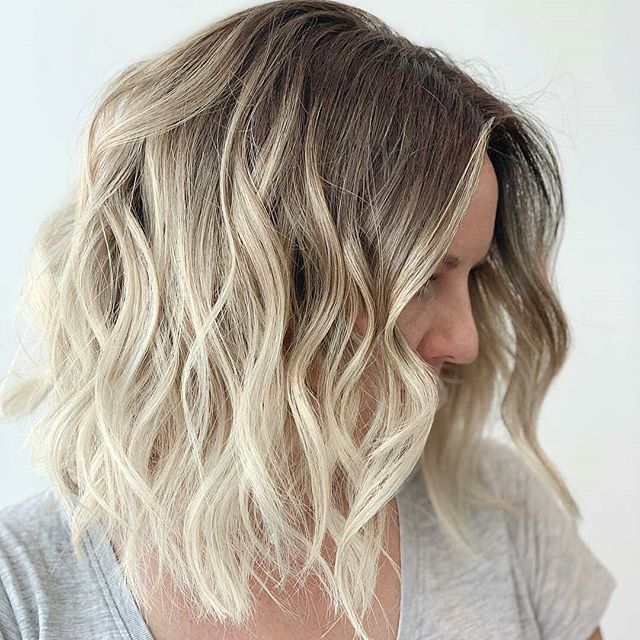 frisuren schulterlanges haar blond