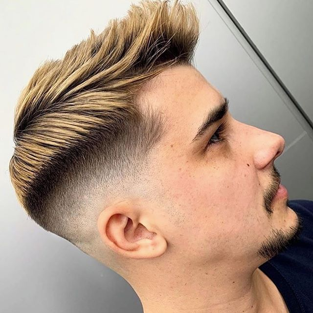 männerfrisuren undercut blond